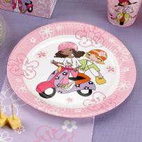Scooter Girls Plates (8)